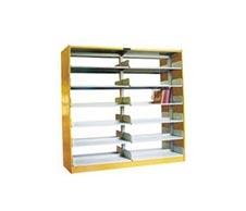 HLD-164 木护板单柱双面书架